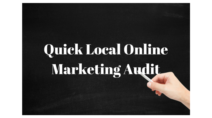 Local Online Marketing Audit